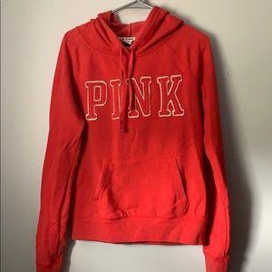 Red Victoria's Secret PINK hoodie🌺
